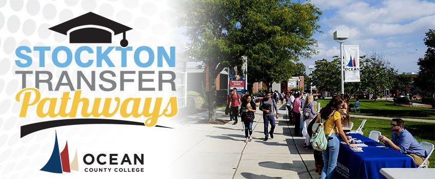 Stockton Transfer Pathways with Ocean County College