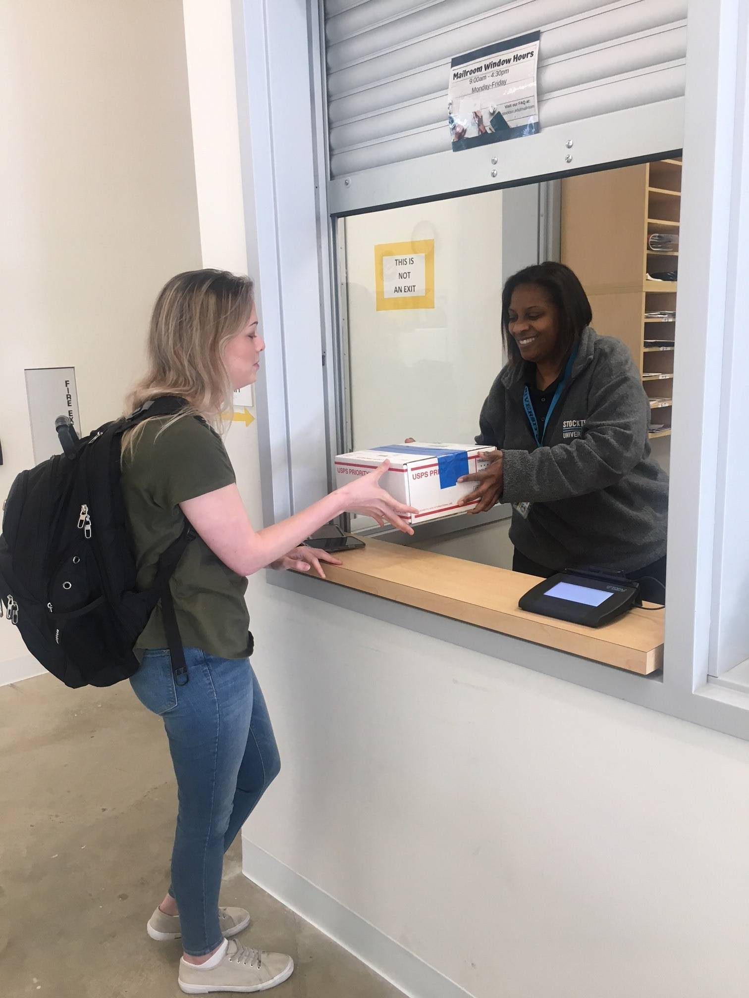 Mail Services: AC Campus - Auxiliary Services | Stockton University