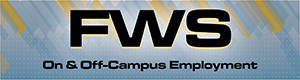 FWS - on and off campus employment
