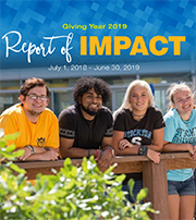 View the 2019 Report of Impact