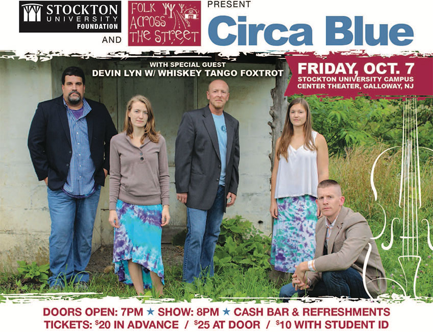Circa Blue with Special Guest Devin Lyn W/Whiskey Tango Foxtrot