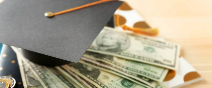 money and mortar board