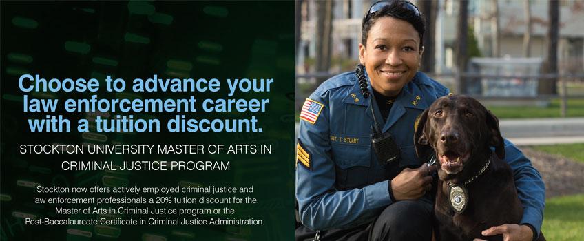 Criminal Justice Tuition Discount - Graduate Studies