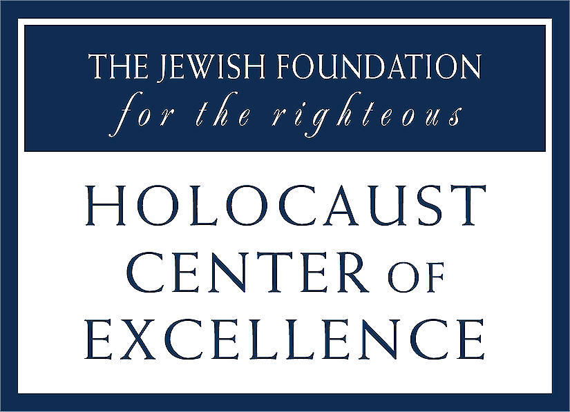 JFR Holocaust Center of Excellence Logo Image