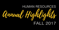 Human Resources Annual Highlights 2017