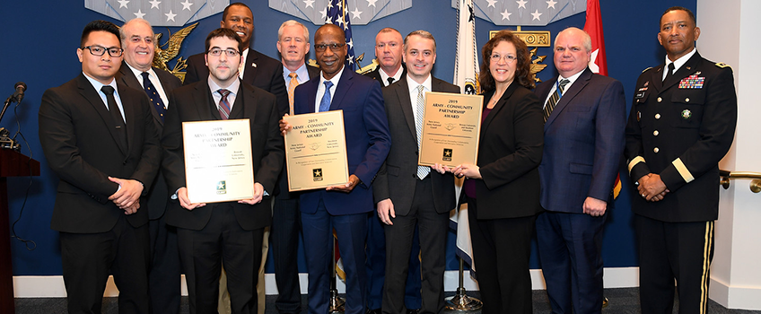 Stockton Recognized for Partnership with NJ Department of Military & Veterans Affairs