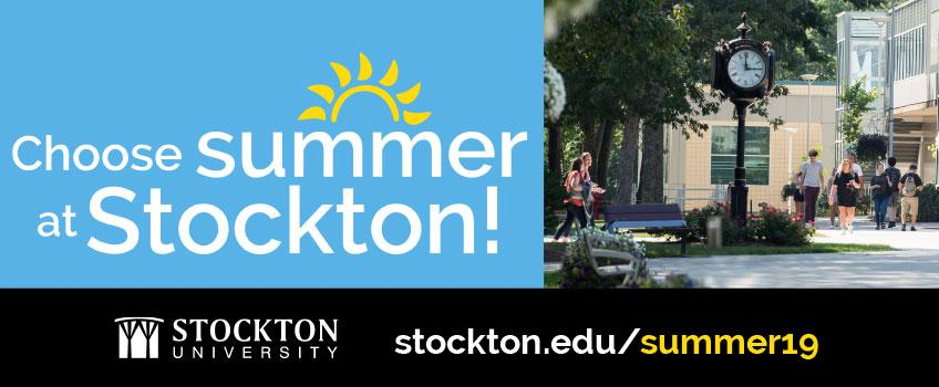 Choose Summer at Stockton | Register Today!