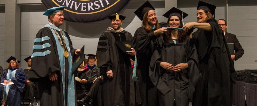 D/M Graduate Hooding