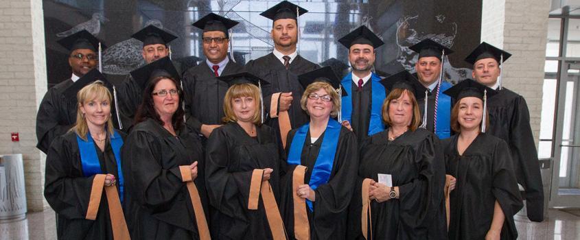 D/M Graduates Fireplace
