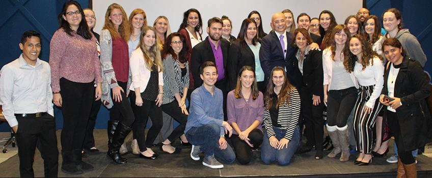 Anthony Melchiorri Shares His Passion With Students