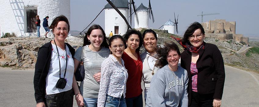 Photo of Language Students