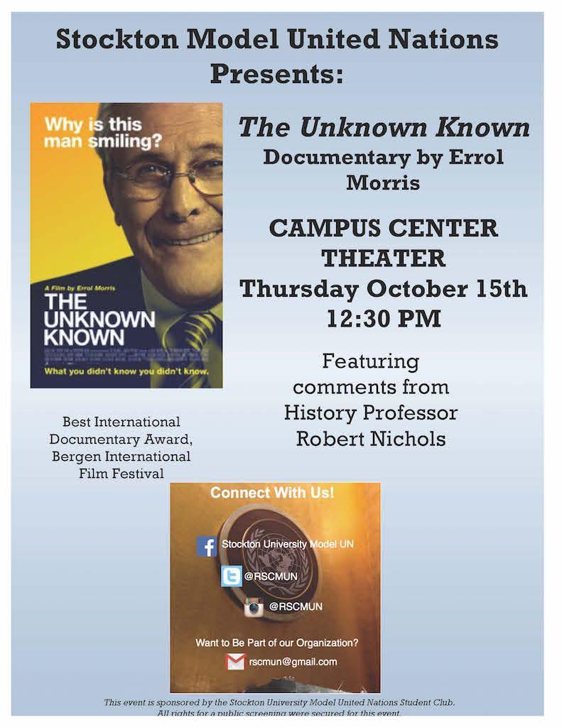 Campus Events - Model United Nations | Stockton University
