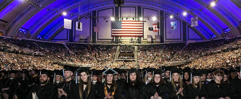 Graduation ar Boardwalk Hall
