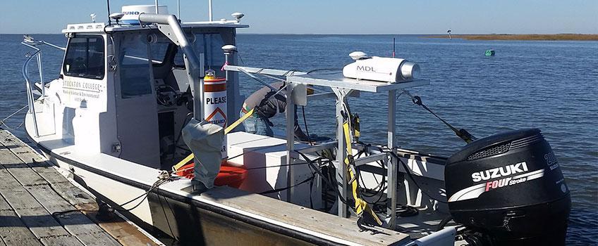 DynaScan boat-mounted LiDAR