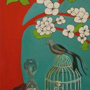 Painting by Carolyn Peña