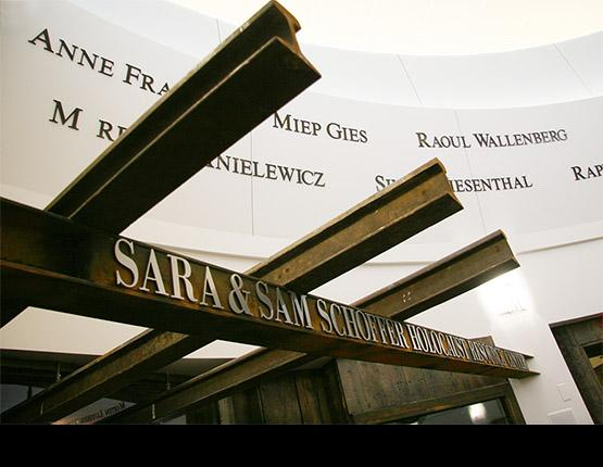Welcome the The Sara & Sam Schoffer Holocaust Resource Center