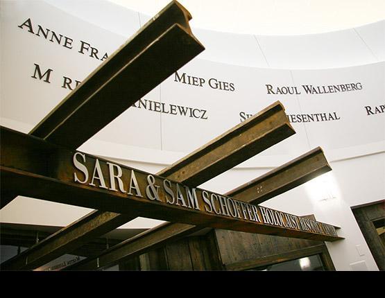 Welcome the The Sara & Sam Schoffer Holocaust Resource Center