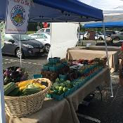 Community Farm Market Stand In Galloway Township-student grown and student led from the Stockton Farm