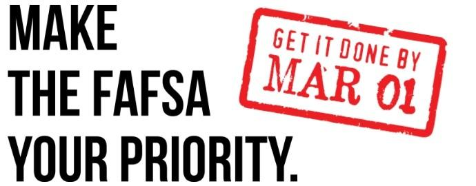 Complete Your FAFSA Early!