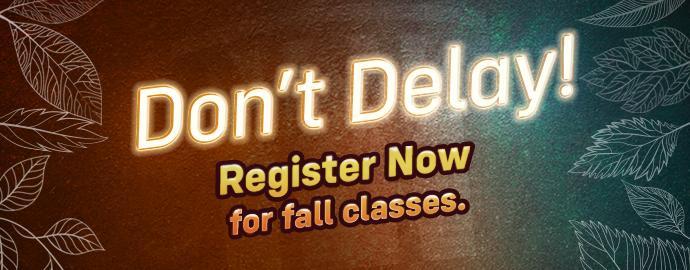 Register for Fall!