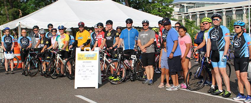 Cyclists Pedal for Scholarships