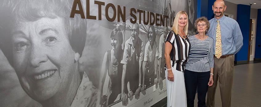 A.C. Student Lounge Named for Elizabeth B. Alton