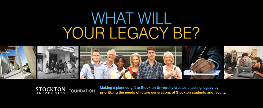 Planned Giving at Stockton University