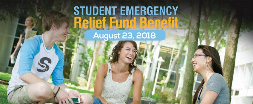 Attend the Student Emergency Relief Fund Benefit on August 23