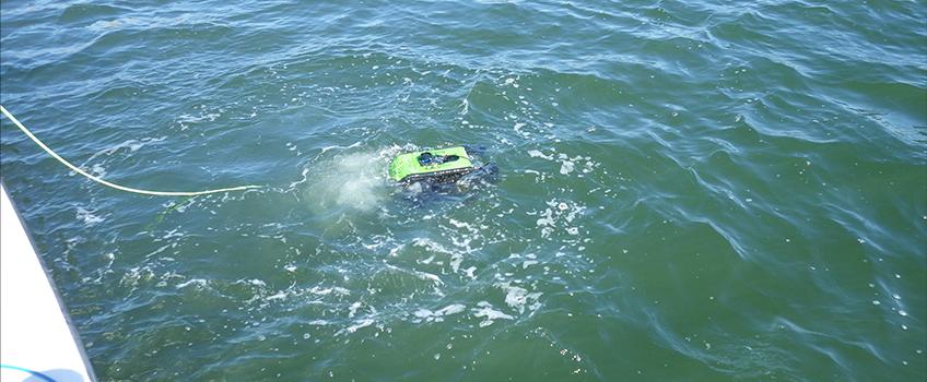 Seabotix ROV Deployment