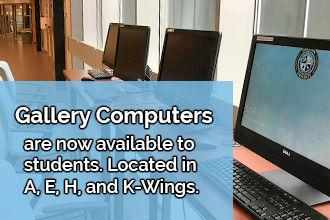 Gallery computers now available