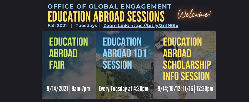 Education Abroad Sessions