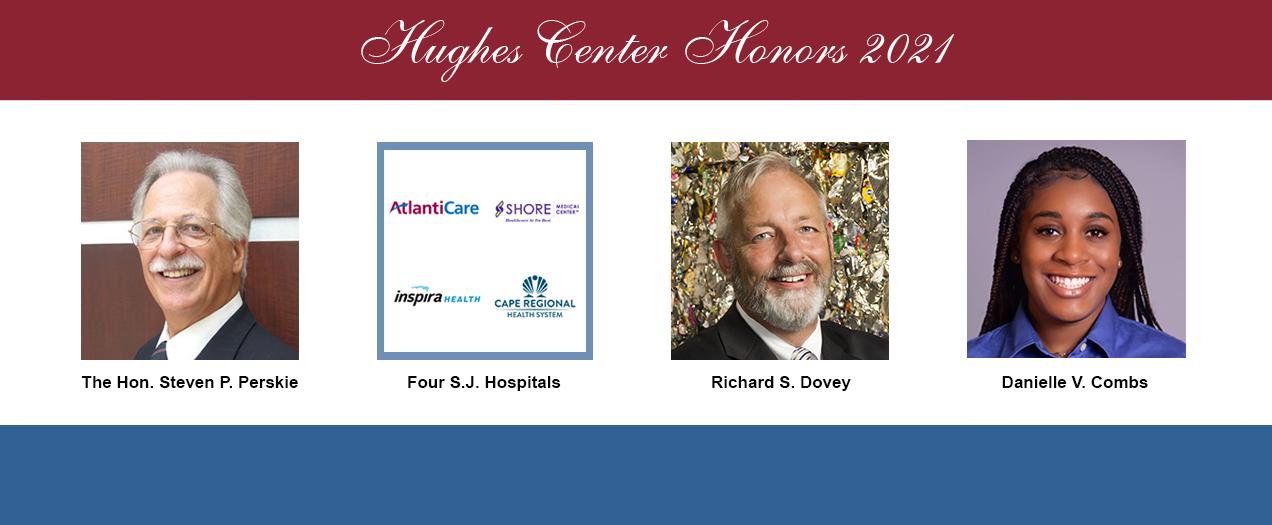Hon. Steven P. Perskie Among Recipients of Hughes Center Honors on Nov. 10