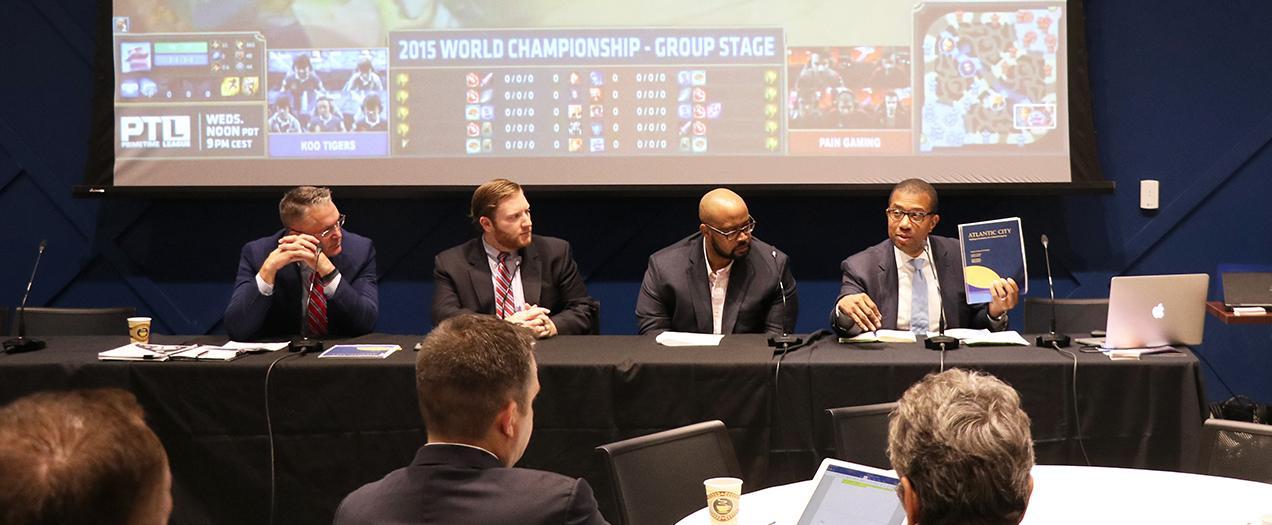 Hughes Center Hosts Esports Summit