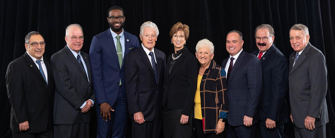 Governors Florio and Whitman Promote Civility at Hughes Center Honors