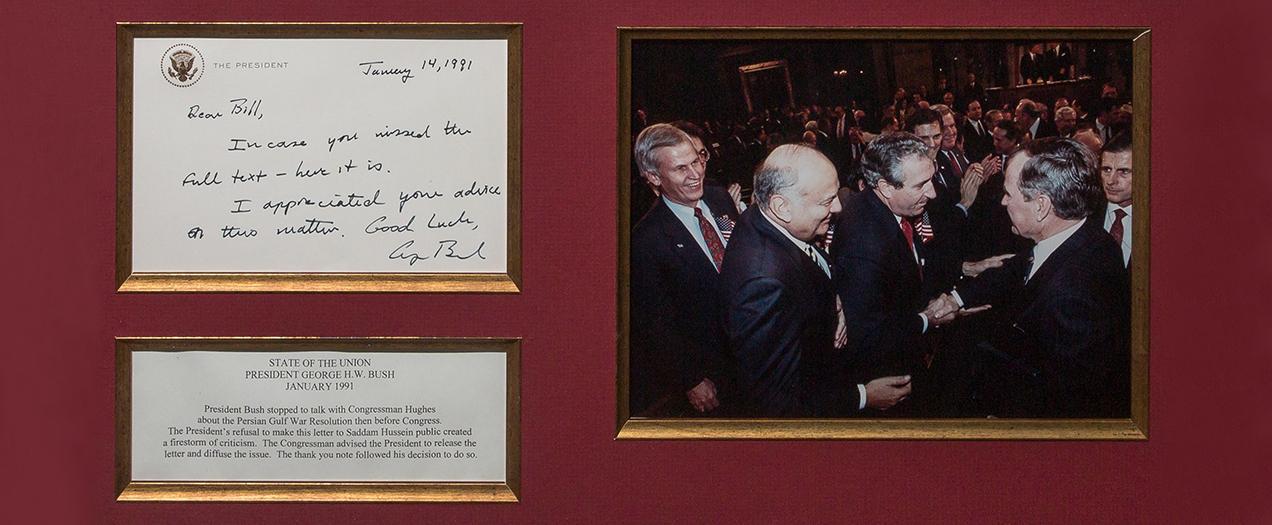 Ambassador Hughes Remembers Former President Bush