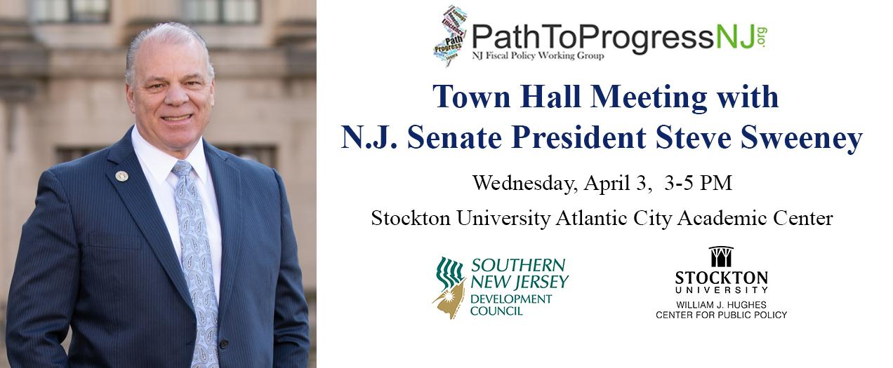 N.J. Senate President Sweeney Holds Town Hall in A.C. View a video of the event