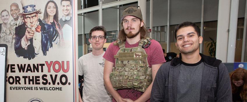 Join Stockton's Student Veteran Organization
