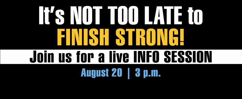 RSVP here to learn more about transferring this fall.