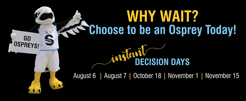 Apply NOW for Pre-Senior Instant Decision Days!