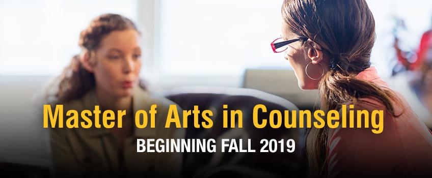 Master of Arts in Counseling