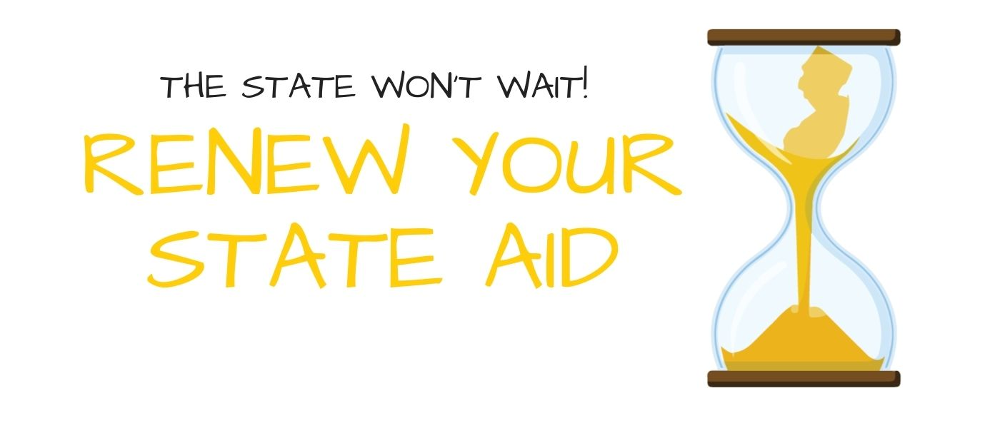 File your FAFSA by April 15!