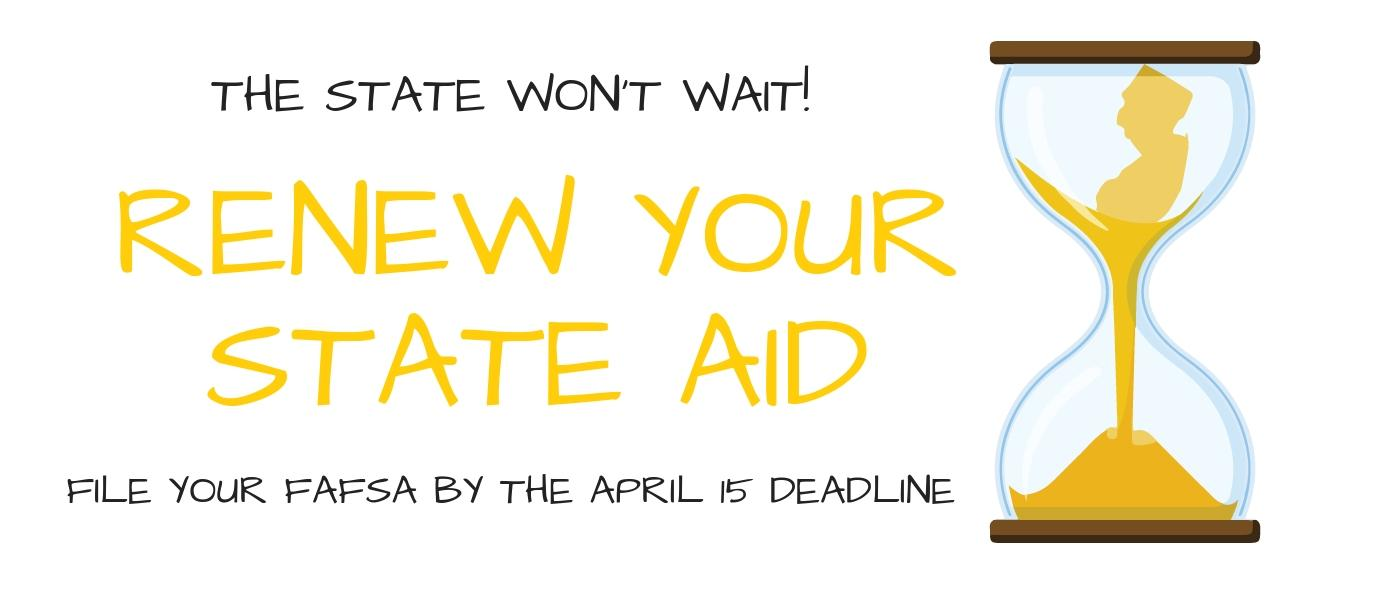Renew Your State Aid