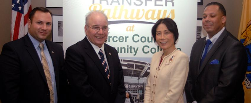Stockton Signs Transfer Agreement with Mercer County Community College