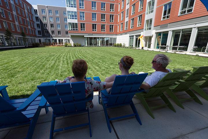 Move-in day at Stockton University Atlantic City