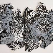 Printmaking 1, relief by Chelsea Regan