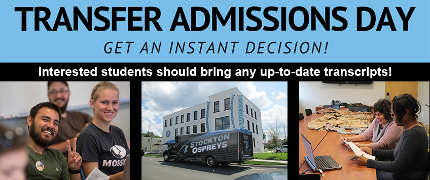 Transfer Admissions Day - Tuesday, May 14th