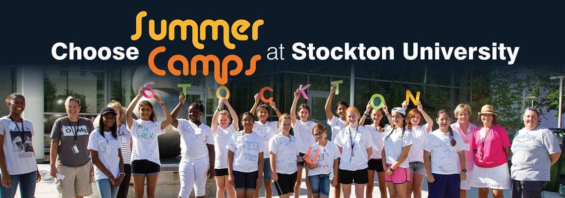Summer Camps at Stockton University