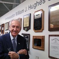 Amb. William J. Hughes at Hughes Center