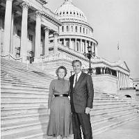 Nancy Hughes and Amb. William J. Hughes