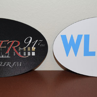 WLFR Black or White Magnet (please specify color) $2.00 each